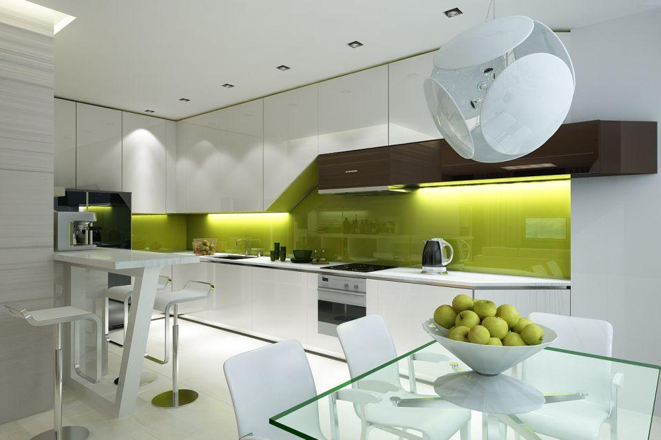 Кухни интерьеры современный дизайн